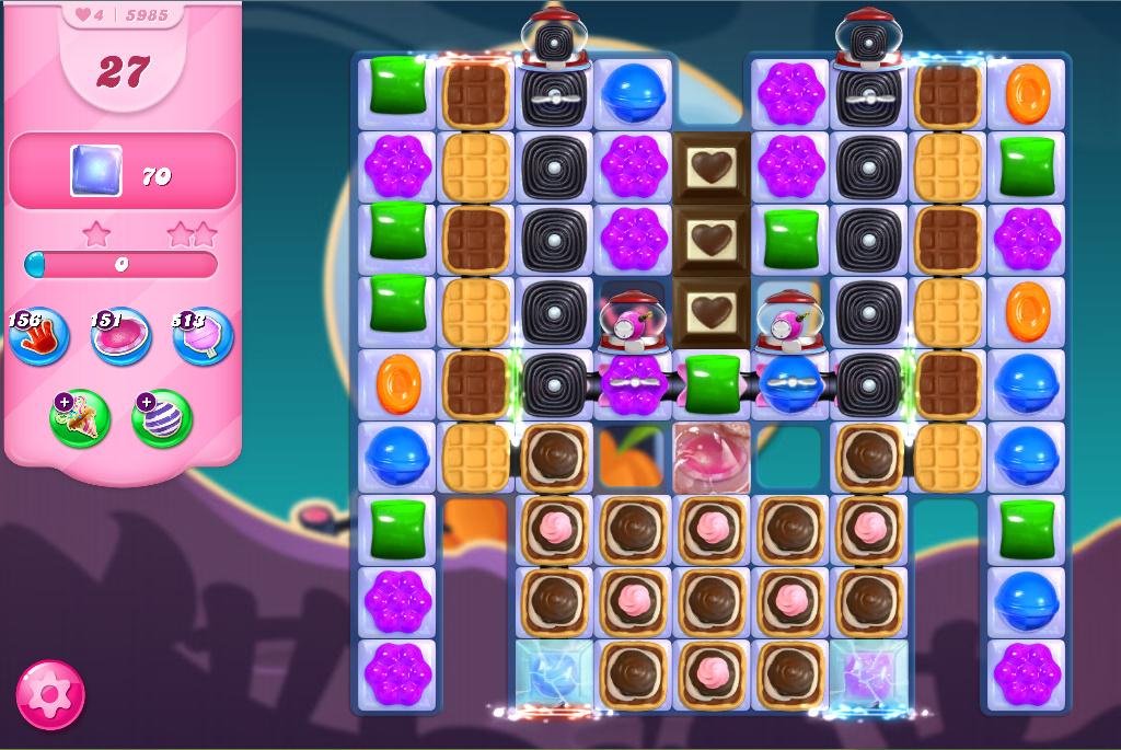 Candy Crush Saga level 5985