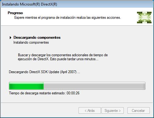 Actualizar Microsoft DirectX 9-10-11-12