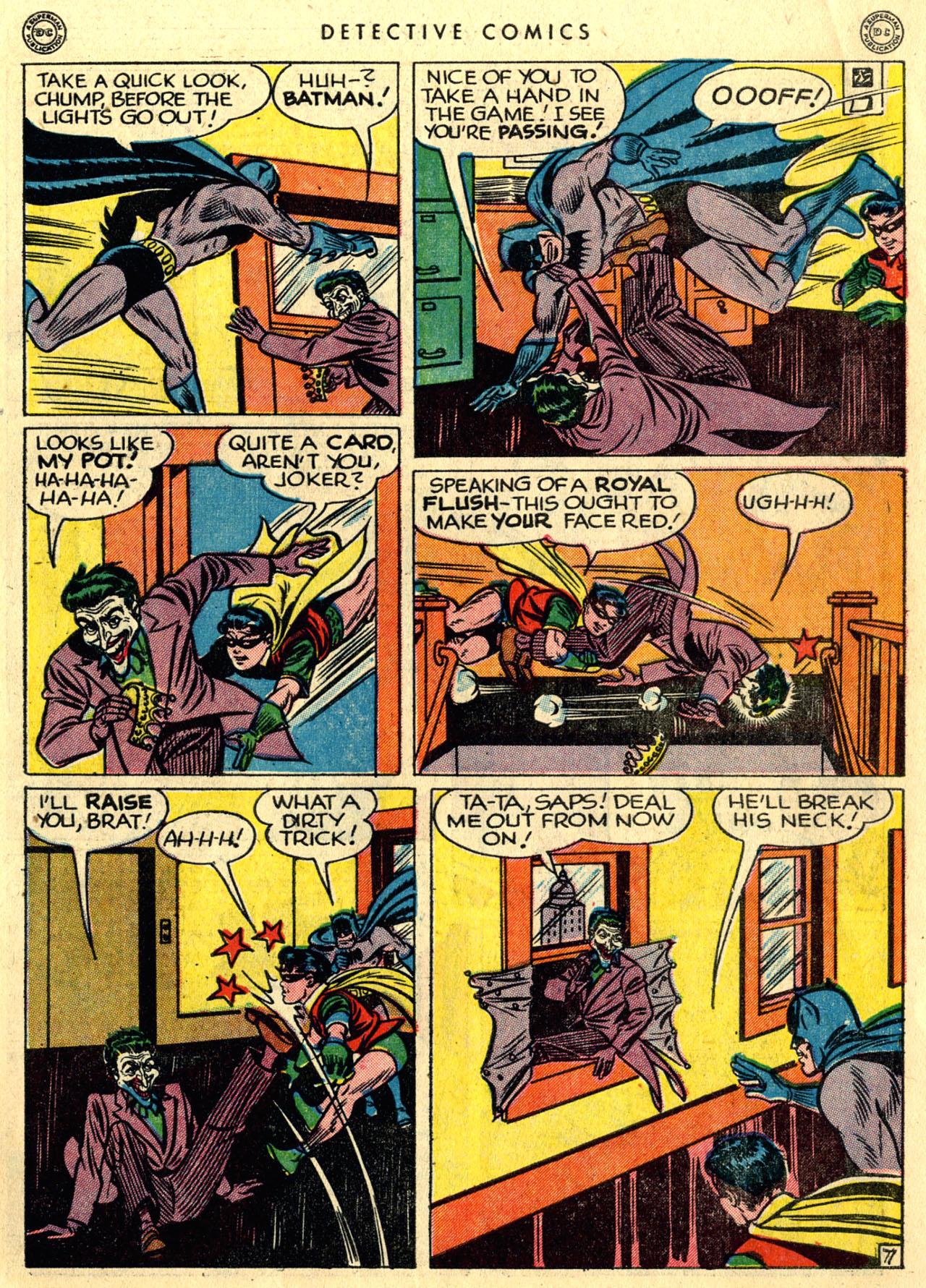 Read online Detective Comics (1937) comic -  Issue #118 - 9