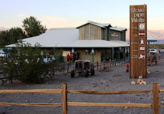 Restaurante Stovepipe Wells Village no Death Valley