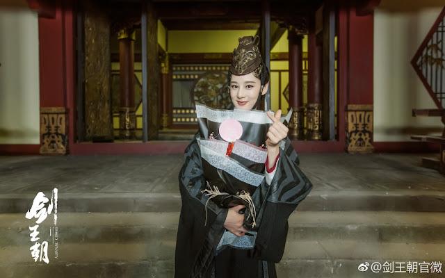 Wuxia Sword Dynasty completes shooting Zhao Yuan Yuan