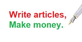 write articles for money uk