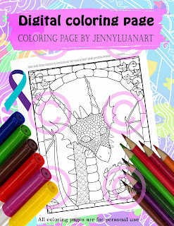 don't break my heart national suicide prevention awareness coloring page