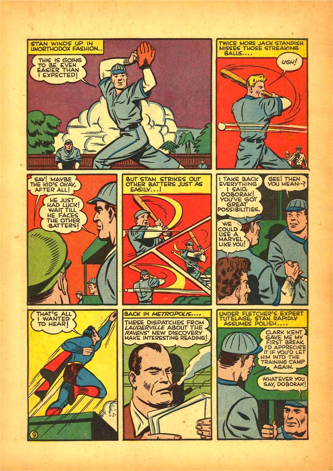 Read online Action Comics (1938) comic -  Issue #50 - 13