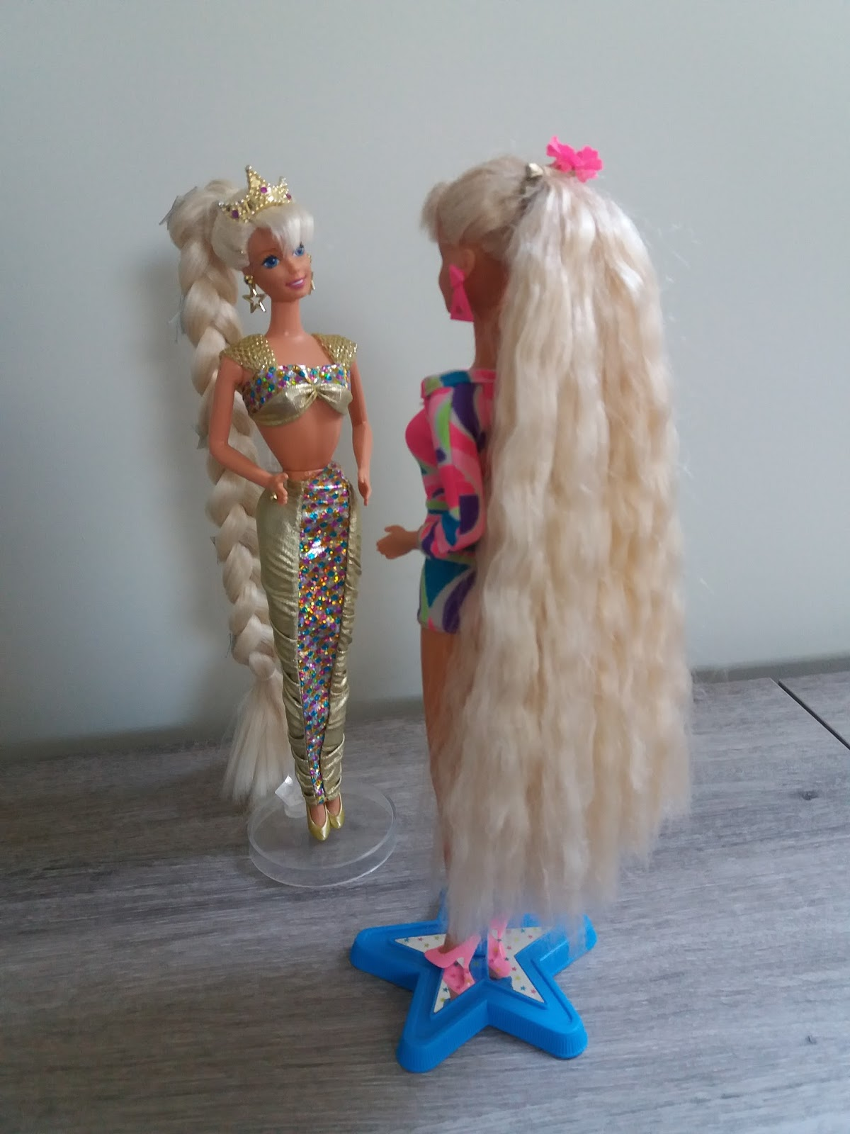 Jewell Hair: Jewel Hair Mermaid Barbie 1995