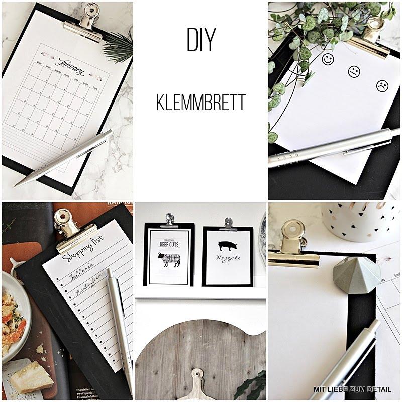 Diy Klemmbrett