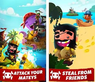Dimana pada kesempatan kali ini akan mengembangkan permainan  Pirate Kings Apk Mod v6.3.5 Unlimited Rotation Free for android