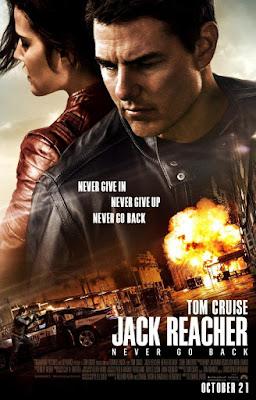 Jack Reacher 2 Never Go Back 2016 DVD R1 NTSC Latino