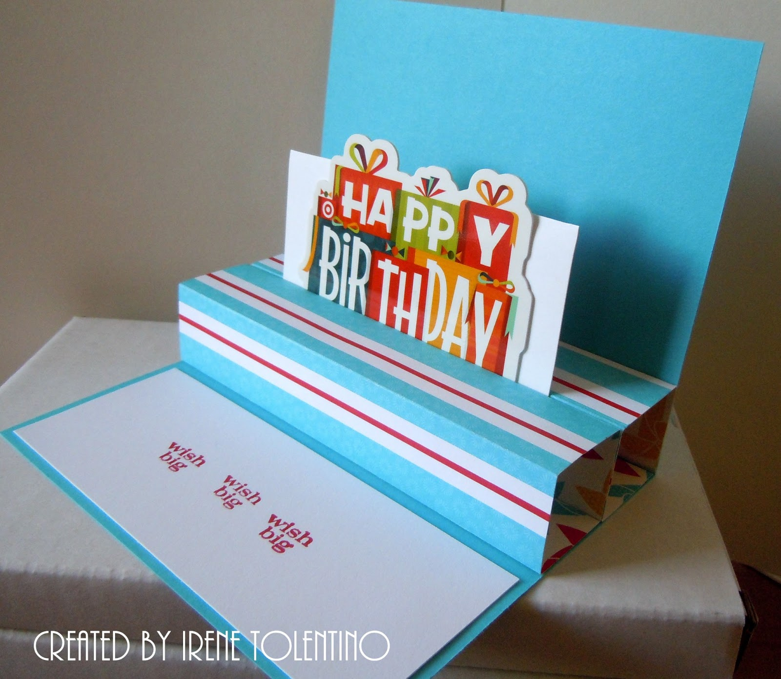 Chit Chats And Crafts : Birthday Gift Card Holder