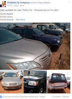 How to start selling Nigerian Used And Tokunbo Cars online business