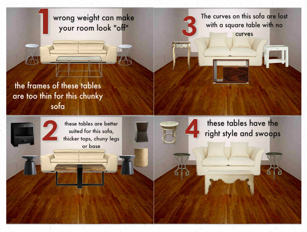 This Is A Very Common Mistake That Homeowners Make When Pairing Sofa And Coffee Table The Wrong Size Or Scale Not Only Does Style Have