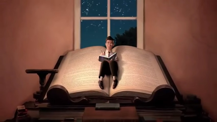 Resultado de imagen para el mejor corto del mundo para fomentar la lectura