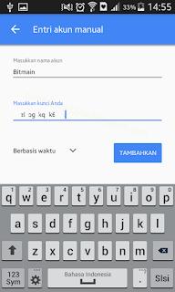 Pilihan Berbasis Waktu | Tutorial - Cara mengaktifkan Google Authenticator di Hashnest