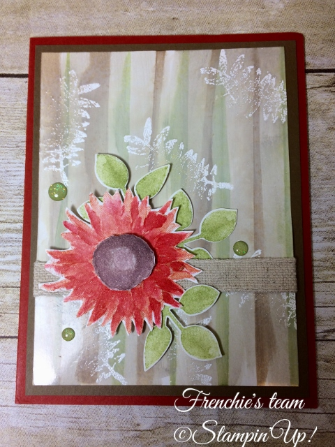 Glossy paper, Painted Harvest, Stampin'Up!