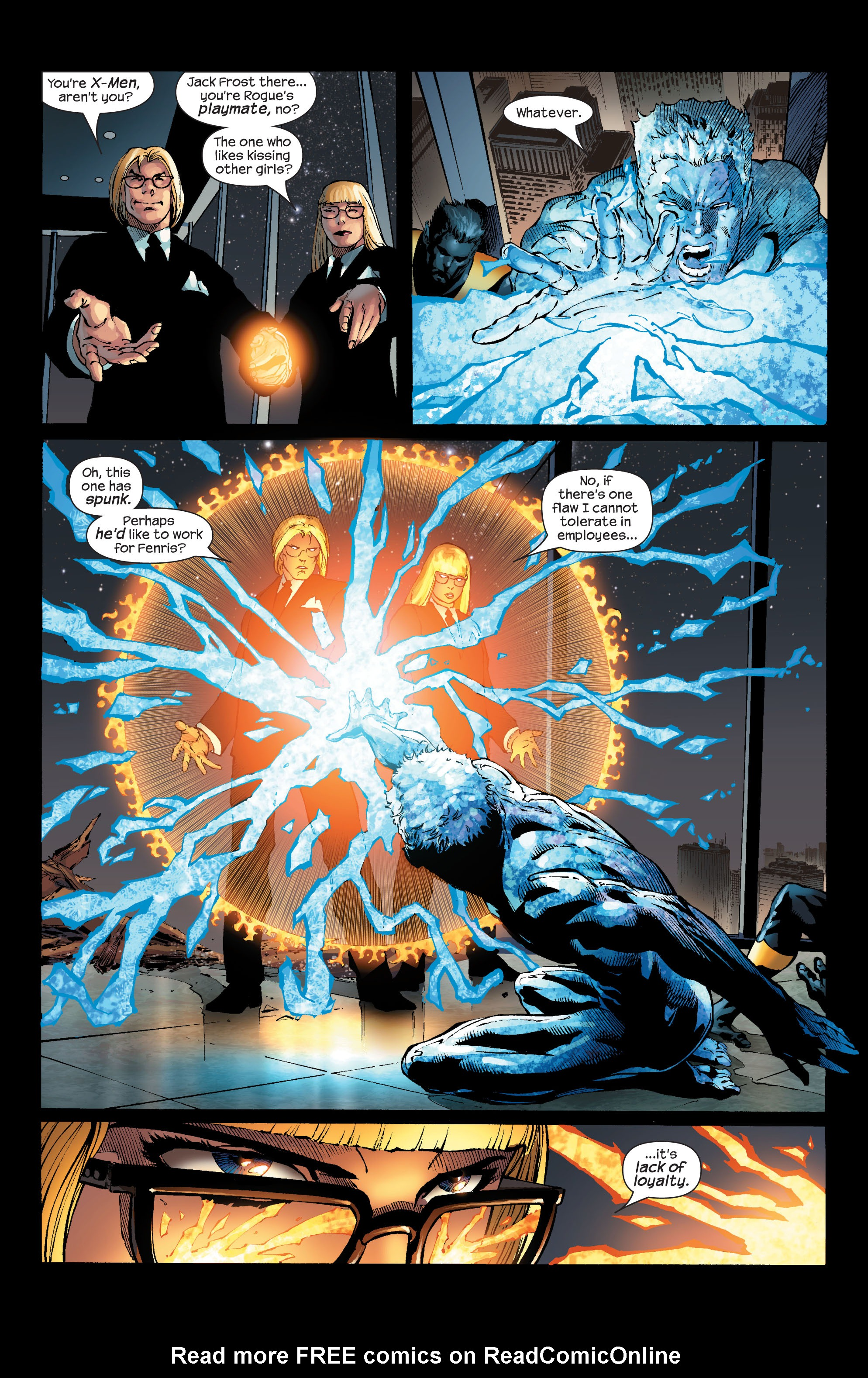 Read online Ultimate X-Men comic -  Issue #53 - 12