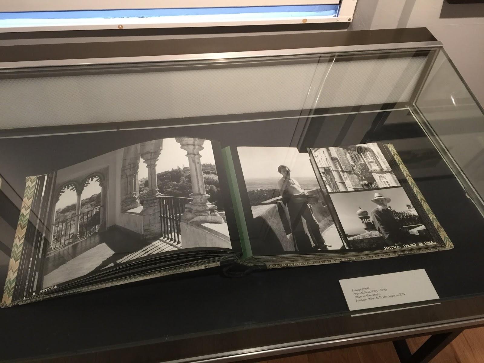 afd98d57332 Angus McBean's personal album of travel photographs