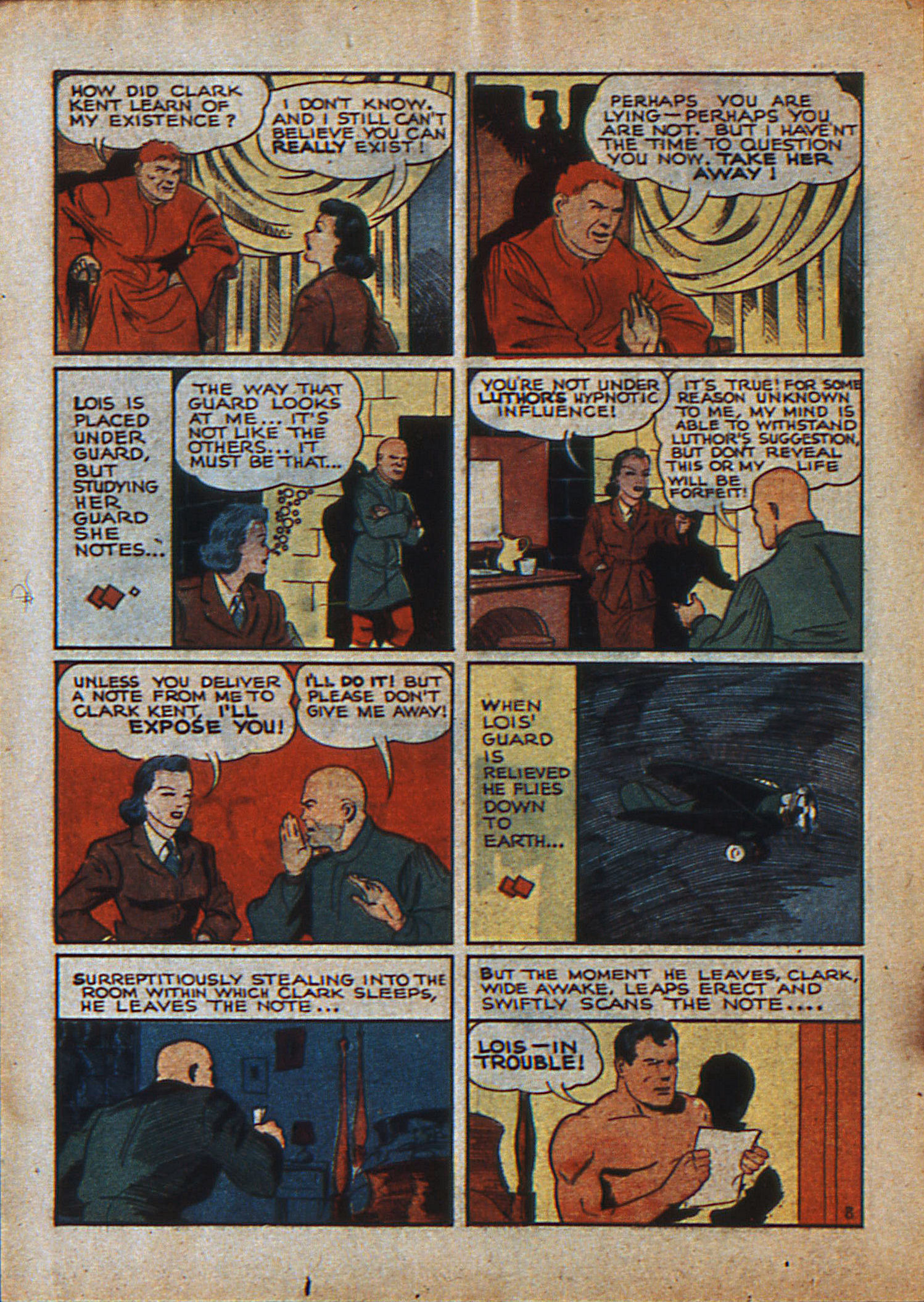 Read online Action Comics (1938) comic -  Issue #23 - 11