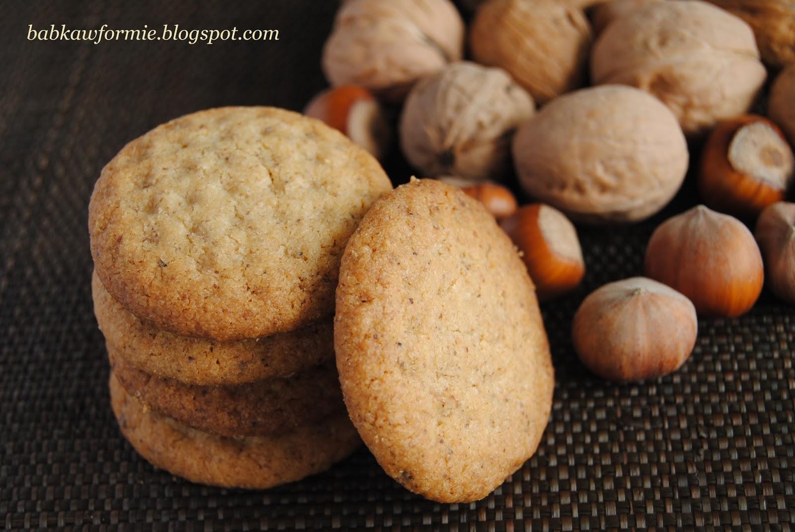 ciasteczka z masłem orzechowym babkawformie.blogspot.com