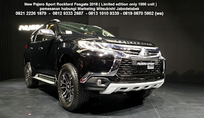 JUAL PAJERO SPORT LIMITED EDITION ROCKFORD 2018