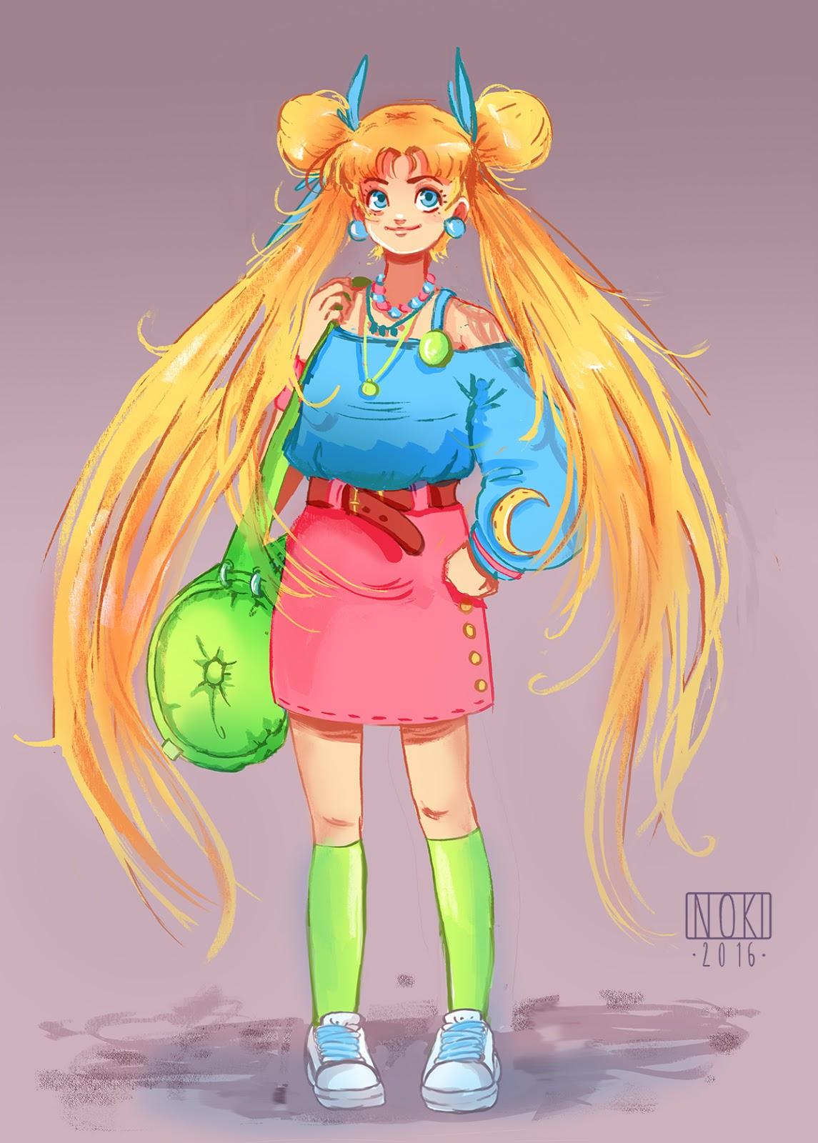 Character Design Challenge Sailor Moon : Sophie hei character design challenge sailor moon