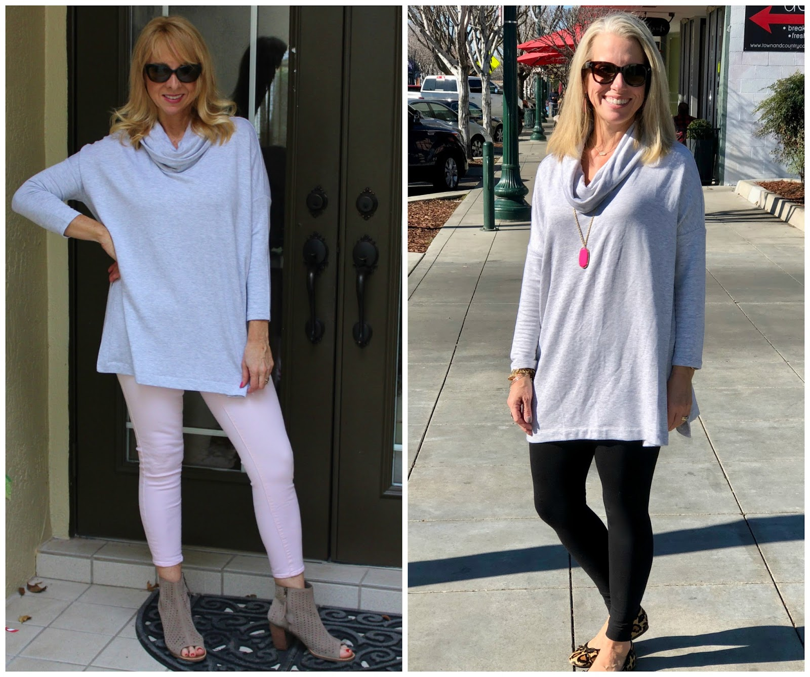 One Tunic Two Ways