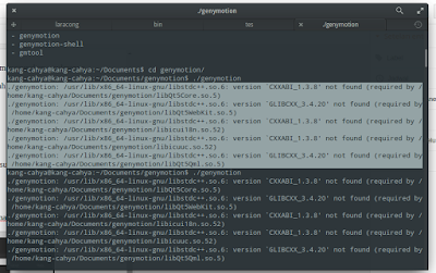 Cara install genymotion di linux