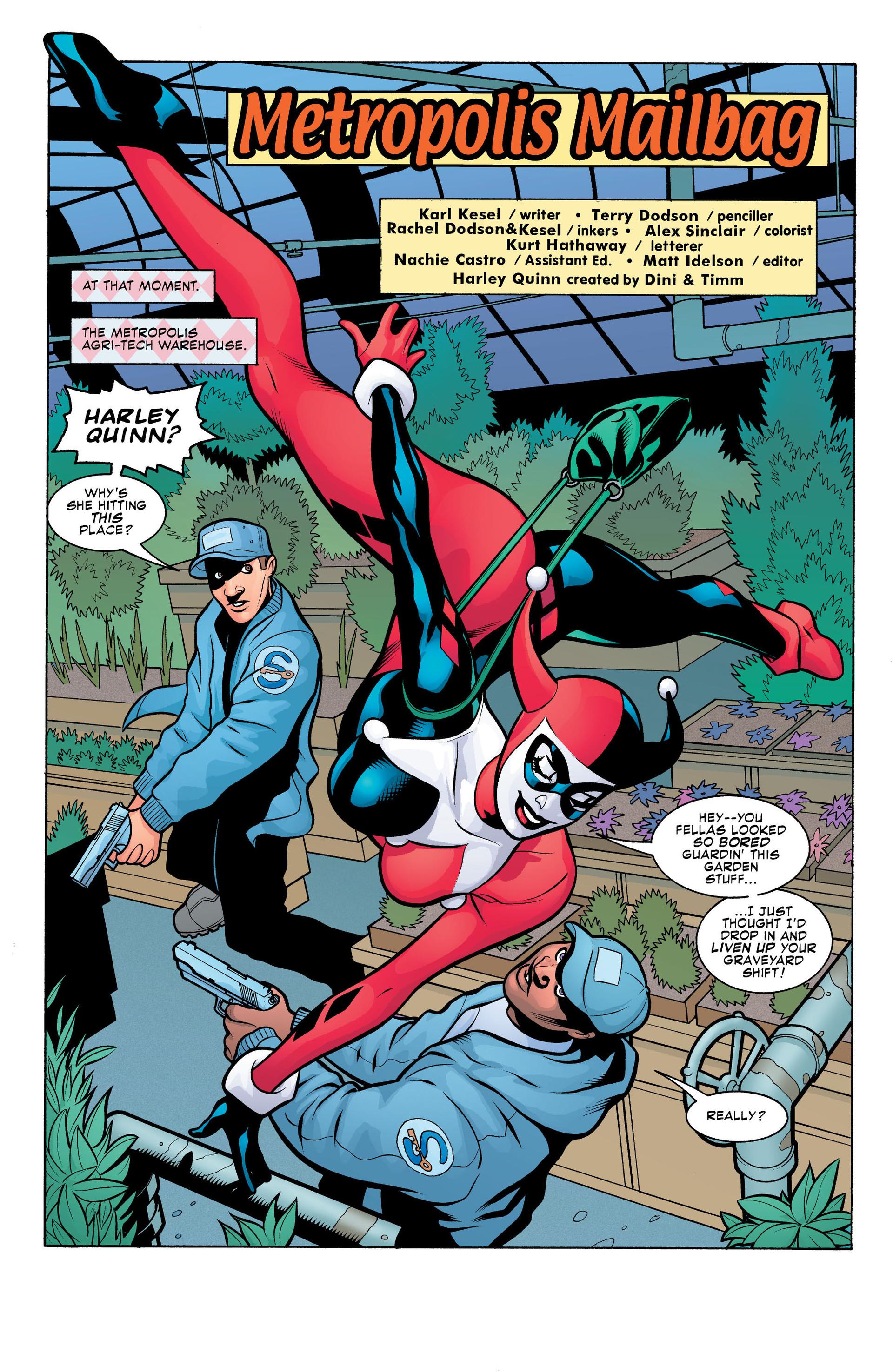 Harley Quinn (2000) Issue #15 #15 - English 3