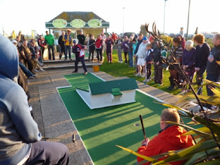 The Arnold Palmer Crazy Golf course in Hastings, England