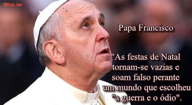 Mensagem de Natal do papa Francisco