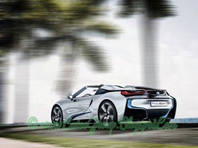 BMW i8 Concept Spyder Super Car