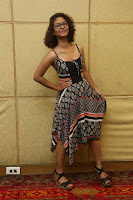 Actress Aditi Myakal Looks gorgeous in Sleeveless Deep Neck Top at Ami Tumi success meet ~  Exclusive 198.JPG
