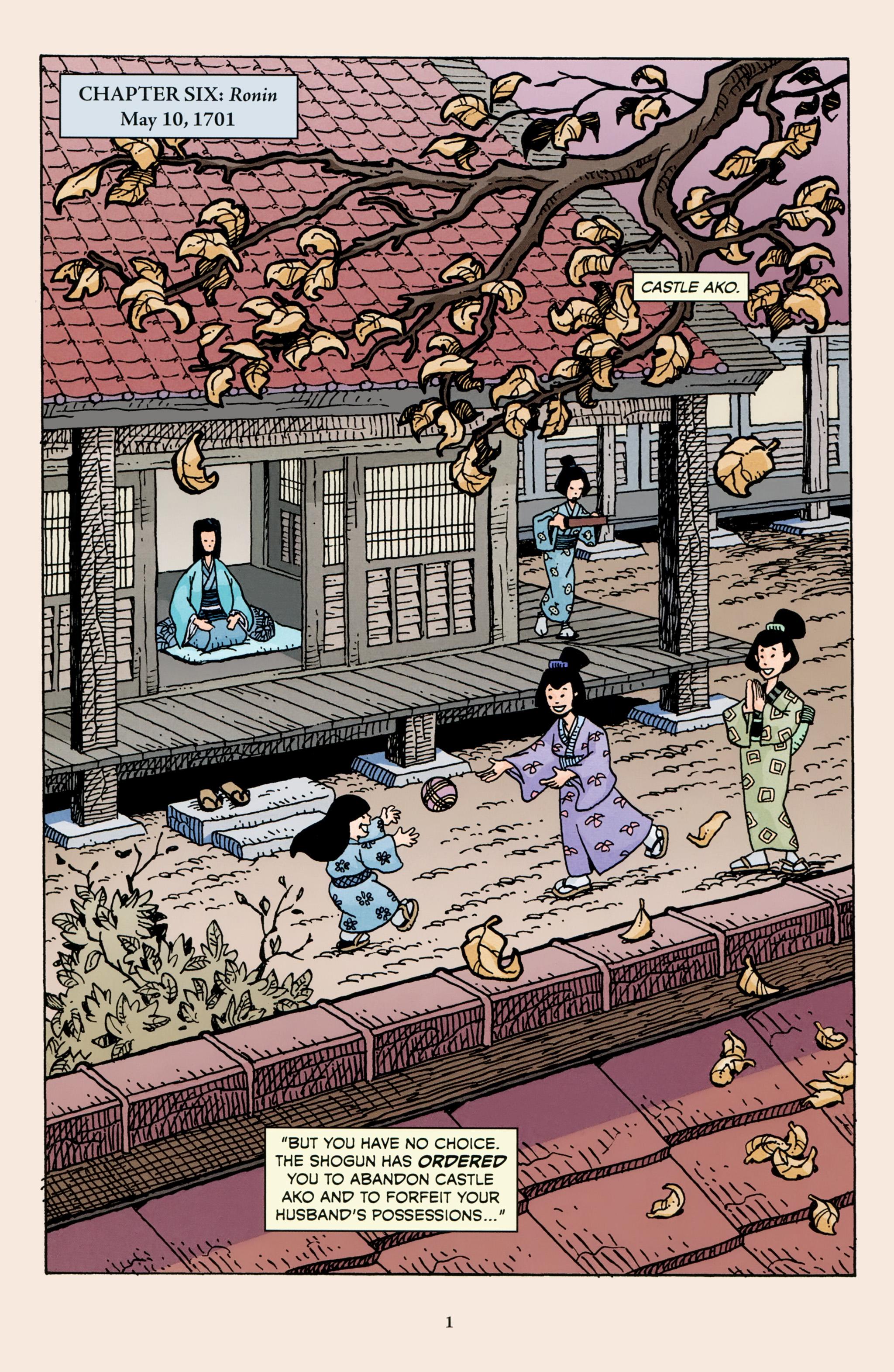 Read online 47 Ronin comic -  Issue #3 - 3
