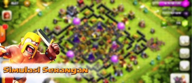 Cara Menggunakan Xmodgames untuk Melakukan Simulasi Serangan dalam Bermain CoC Clash of Clans