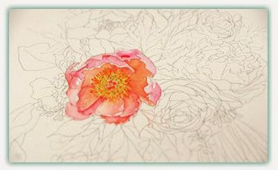 Bride BouqueBride Bouquets - by Watercolor Paintingts - by Watercolor Painting