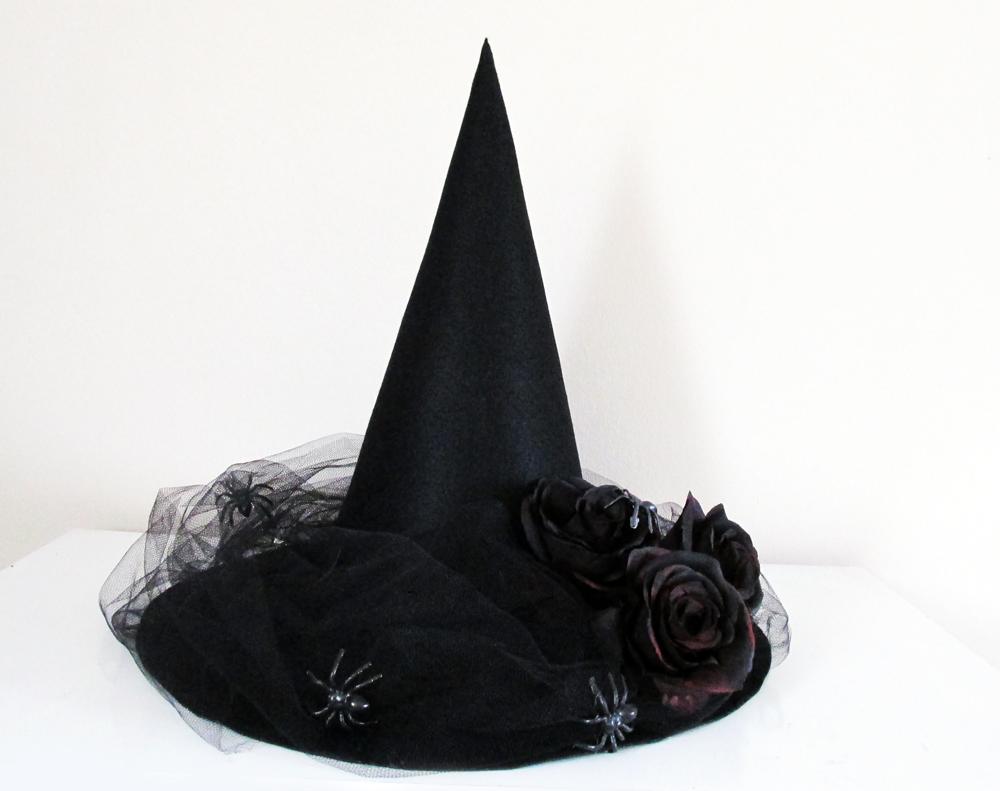 6ee91355b00ef DIY  Como Fazer um Chapéu de Bruxa para o Halloween