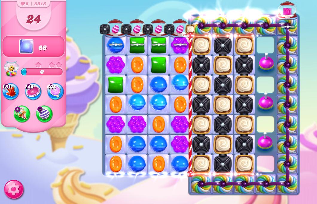Candy Crush Saga level 5915