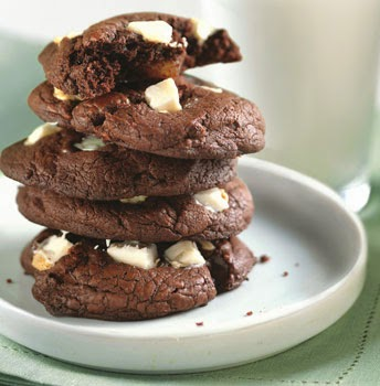 http://www.epicurious.com/recipes/food/views/Dark-and-White-Chocolate-Chunk-Cookies-237296