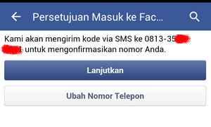 verifikasi fb