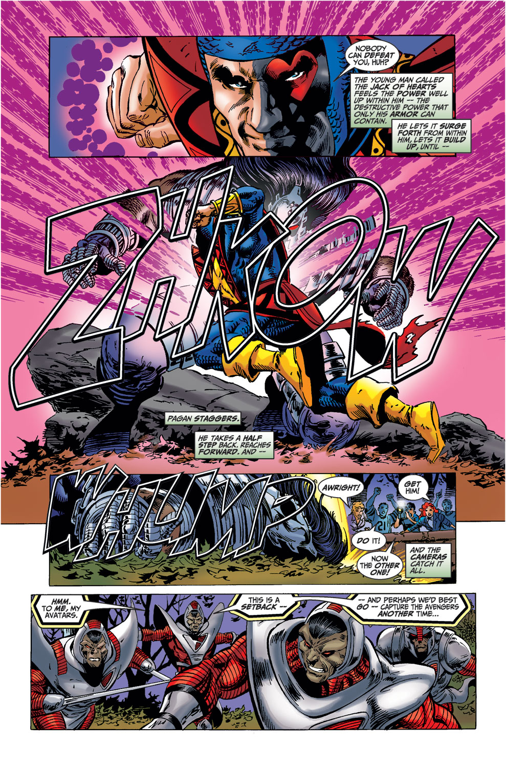 Read online Avengers (1998) comic -  Issue #37 - 17