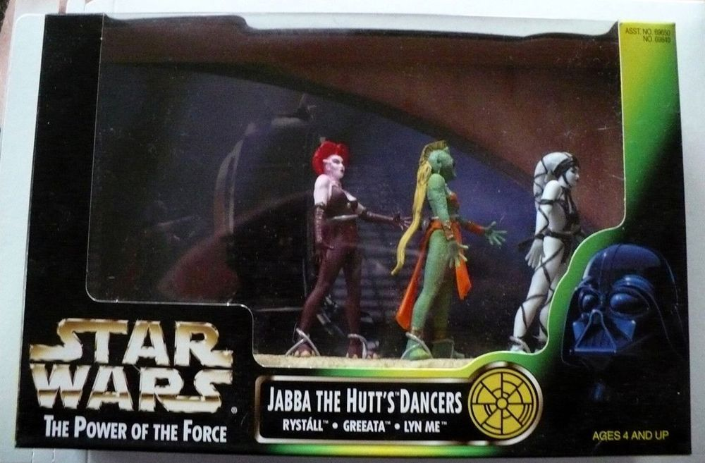 Jabbas Dancing Girls Star Wars The Power Of The Force A Review