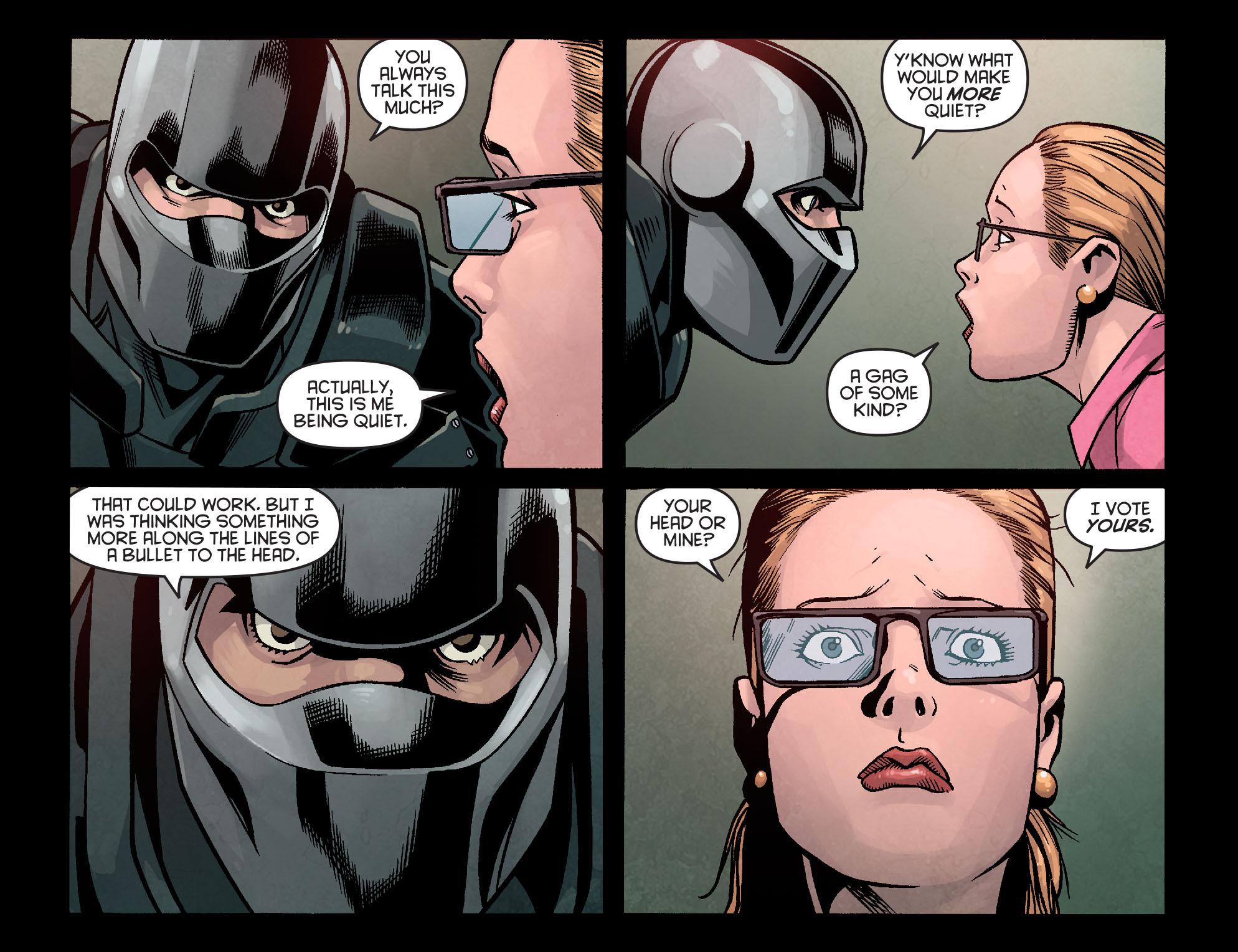 Read online Arrow: Season 2.5 [I] comic -  Issue #14 - 12