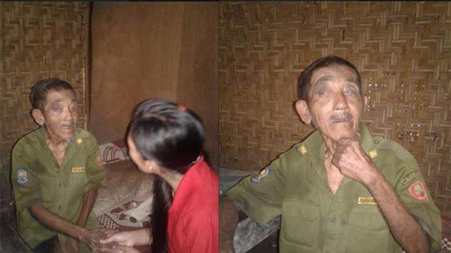 Menyayat Hati! Kakek Ini Ditinggal Sendiri dalam Hutan dengan Kondisi Memprihatinkan