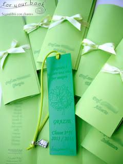 segnalibro regalo fine anno maestre incisione ringraziamento dedica
