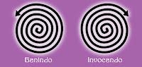 Espiral Mágica para banimento ou invocação | Wicca, Magia, Bruxaria, Paganismo