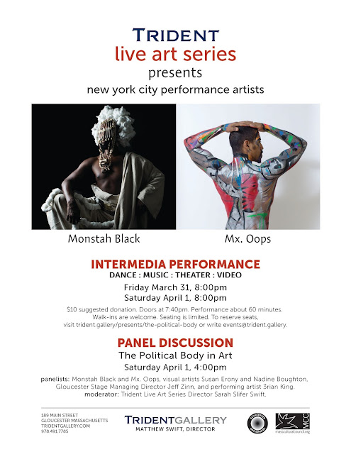 """The Political Body"" performances and panel discussion"