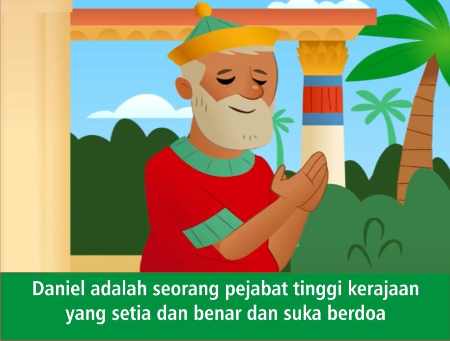 Komik Alkitab Anak Komik Daniel Di Gua Singa