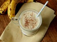 Make Banana juice Happy Toddler