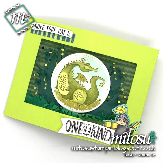 Stampin' Up! Magical Day SU Diorama Card Idea order craft supplies from Mitosu Crafts UK Online Shop