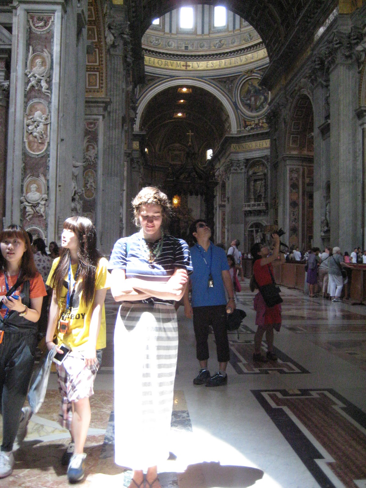 Shayla Who?: Rome Post: The Vatican: St. Peter's Basilica