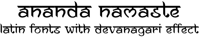 English font that look like Hindi  ~ Beautiful Hindi Fonts
